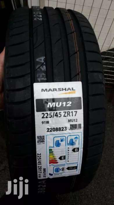 225/45/17 Marshal Tyres Is Made In Korea