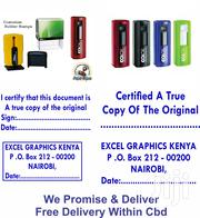 Rubber Stamps & Company Seal | Tax & Financial Services for sale in Nairobi, Nairobi Central