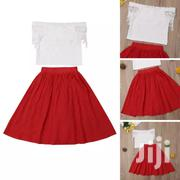 Red And White Skirt | Children's Clothing for sale in Mombasa, Shimanzi/Ganjoni