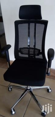 A.Executive Mesh Chairs With Recliner Adjustable Arms | Furniture for sale in Nairobi, Nairobi West