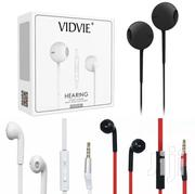 Vidvie Earphone Headset Heavy Bass Stereo Touch Kit In-ear Music 3.5mm | Headphones for sale in Nairobi, Nairobi Central