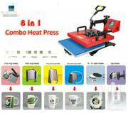 """5 In 1  Combo 15 X 12"""" Transfer Sublimation Heat Press Machine"""" 