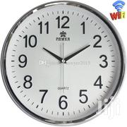 Wifi Nanny Wall Clock-white | Photo & Video Cameras for sale in Nairobi, Nairobi Central