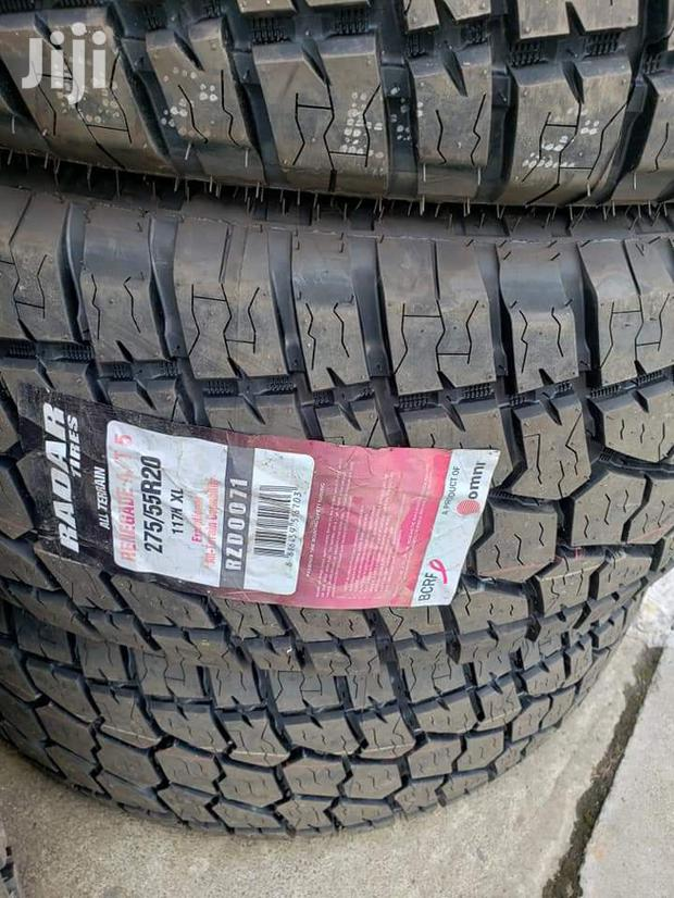 275/55/20 Radar Tyre's Is Made In Thailand
