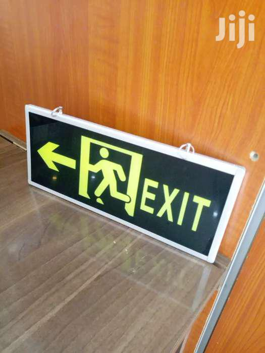 Illuminous Double Sided Fire Exit Sign