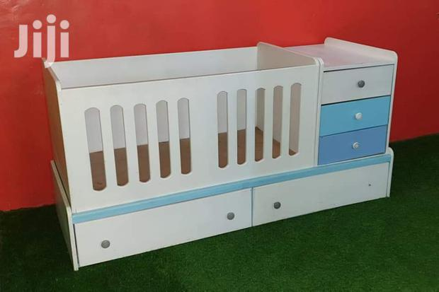 Archive: Baby Cot With Ample Storage( Drawers And Side) And Changing Station