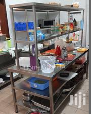 Stainless Steel Worktop Table With Shelf | Furniture for sale in Nairobi, Embakasi