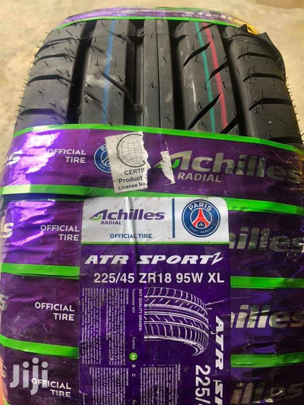 225/45/18 Achilles Tyres Is Made In Indonesia