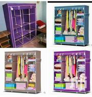 3 Columns Wooden Frame Portable Wardrobes | Furniture for sale in Nairobi, Nyayo Highrise