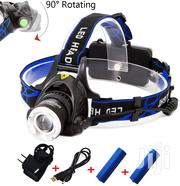 Rechargeable Headlamp,1800 Lumens Zoomable Waterproof LED Head Lamp | Camping Gear for sale in Nairobi, Nairobi Central