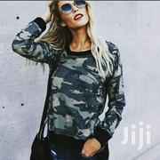 Trendy Long Sleeved Camo Top For Ladies | Clothing for sale in Mombasa, Tudor