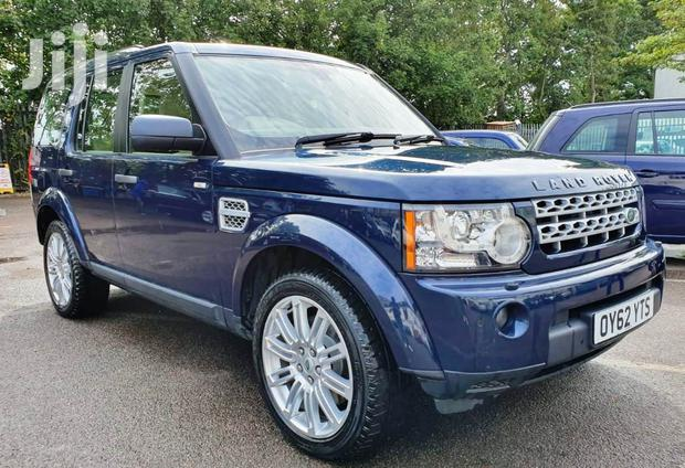 Archive: Land Rover Discovery II 2012 Blue