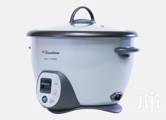 3 in 1 Healthy Rice Multi-Cooker - Grey.