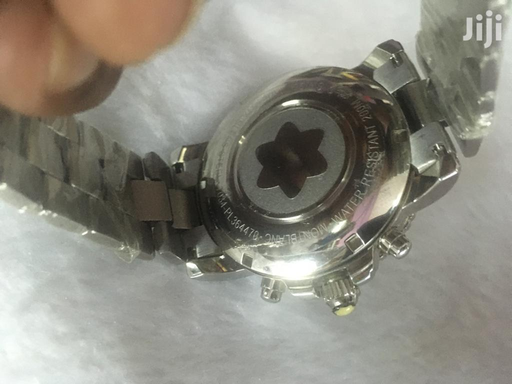 Unique Quality Silver Montblanc Gents Watch | Watches for sale in Nairobi Central, Nairobi, Kenya