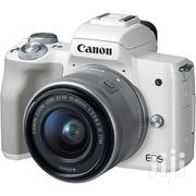 Canon EOS M50 Mirrorless Digital Camera With 15-45mm STM Lens (White) | Photo & Video Cameras for sale in Nairobi, Nairobi Central