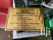 Plaque Aluco Board | Other Services for sale in Nairobi, Nairobi Central