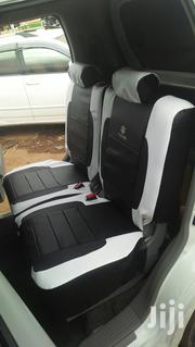 Black /White Leather Car Seat Covers | Vehicle Parts & Accessories for sale in Mombasa, Timbwani