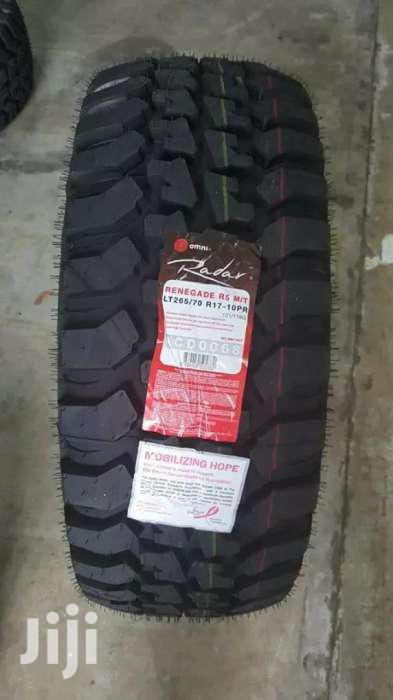 265/70/17 Radar Tyre's Is Made In Indonesia