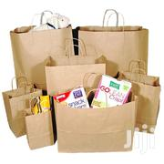 Twisted Handle Kraft Paper Khaki Carry Gift Bags - Brown | Home Accessories for sale in Nairobi, Nairobi Central