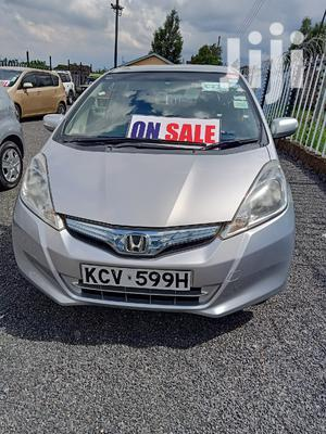 Honda Fit 2012 Automatic Silver