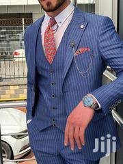 Designer Men's Suits - Executive Design Suits - Striped Blue | Clothing for sale in Nairobi, Nairobi Central