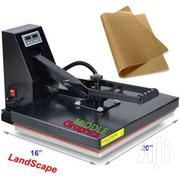 """16 X 20 Heat Press (Flat) With Teflon-coated Heat Element Sublimation"""" 