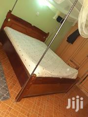 Slightly Used Bed 5x6 With Spring Mattress | Furniture for sale in Nairobi, Umoja II