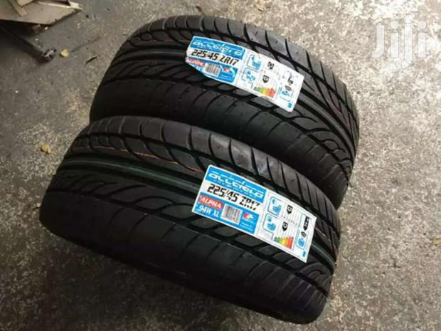 225/45/17 Accerera Tyres Is Made In Indonesia