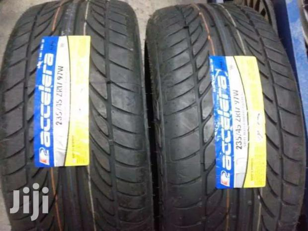 235/45/17 Accerera Tyres Is Made In Indonesia