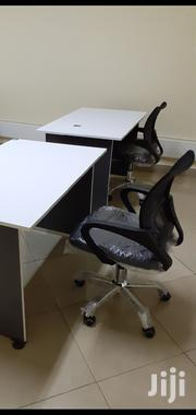 Desk 1meter Without Drawer+Chair Ksh 10950 With Free Delivery | Furniture for sale in Nairobi, Nairobi West