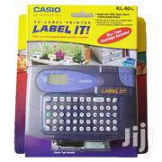 KL-60-L Label Printer KL-60L Compatible For Casio 6/9/12mm Label Tapes | Store Equipment for sale in Nairobi, Nairobi Central