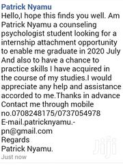 Attached Internship Opportunity In Counseling Psychology | Internship CVs for sale in Nairobi, Karen