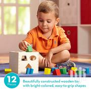 Shape-sorting Cube Classic Wooden Toy | Toys for sale in Nairobi, Pangani