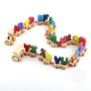 Wooden Alphabet Letter Train | Toys for sale in Nairobi, Pangani