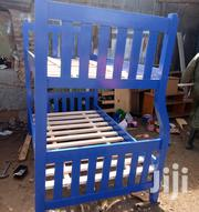 Bunk Bed Blue In Colour   Furniture for sale in Nairobi, Ngando