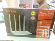 Tenda Wireless Router (4 Antenna) 300mbps | Networking Products for sale in Nairobi, Nairobi Central