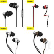 Awei Es-970i In-ear Dynamic Driver Wired Control Bass Earphone Earbuds | Headphones for sale in Nairobi, Nairobi Central