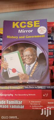 Kcse Mirror History And Government | Books & Games for sale in Nairobi, Kahawa West
