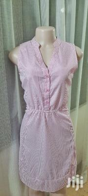 Striped Pink Skater Dresssize 8 | Clothing for sale in Mombasa, Mkomani
