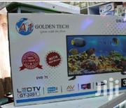 AC/DC Solar Powered Digital LED Golden Tech TV 32 Inch | TV & DVD Equipment for sale in Nairobi, Nairobi Central