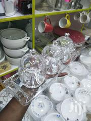 A Three Set Of Colourless Sugar Dishes | Kitchen & Dining for sale in Nairobi, Embakasi