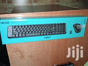 Logitech WIRELESS Keyboard+MOUSE Mk220 | Computer Accessories  for sale in Nairobi, Nairobi Central