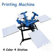 4 Color 4 Station Silk Screen Printing Press Machine | Printing Equipment for sale in Nairobi, Nairobi Central
