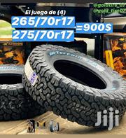 275/70r17 Bf Goodrich AT Tyre's Is Made in USA | Vehicle Parts & Accessories for sale in Nairobi, Nairobi Central