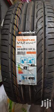 245/45zr18 100Y Hankook Tyres Is Made In Korea   Vehicle Parts & Accessories for sale in Nairobi, Nairobi Central