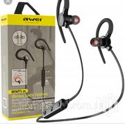 Awei B 925bl Ear-Hook Magnetic Bluetooth Earphone With Mic | Headphones for sale in Nairobi, Nairobi Central