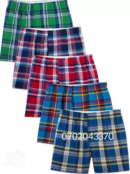 Archive: 6PACK Men's Checked Boxers