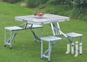 Portable Indoor-Outdoor Aluminum Folding Picnic Table 4 Seats Bench | Furniture for sale in Nairobi, Nairobi Central