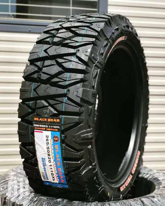 265/50/20 Blackbear AT Tyres Is Made In China