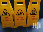 Caution Signs Or Caution Board | Safety Equipment for sale in Nairobi, Nairobi Central